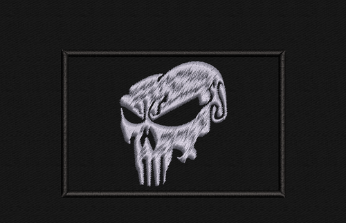 Punisher Styled 2x3