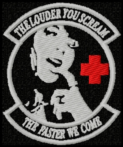 the louder you scream, the faster we come patch