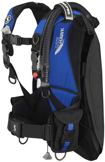 Litehawk w/Balanced Inflator Black/Blue Med-Large