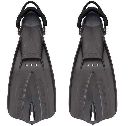 """""""GO"""" TRAVEL FIN BLACK (XS-S, 5-8 ADULT)"""
