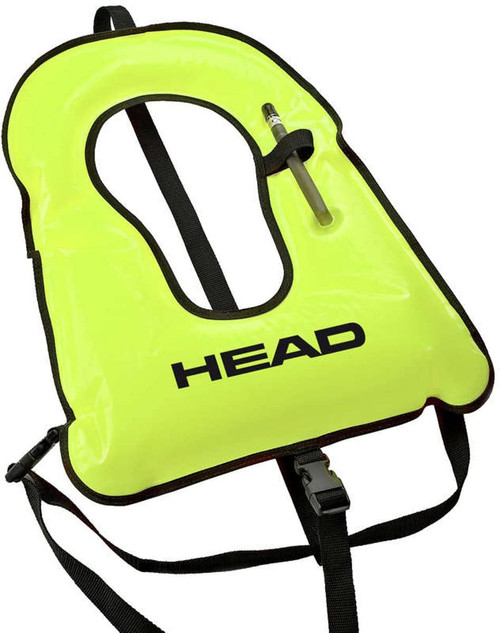 HEAD SNORKEL VEST NEON YELLOW