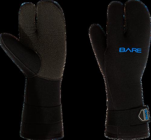 Bare 7mm 3-Finger Mitt K-Palm