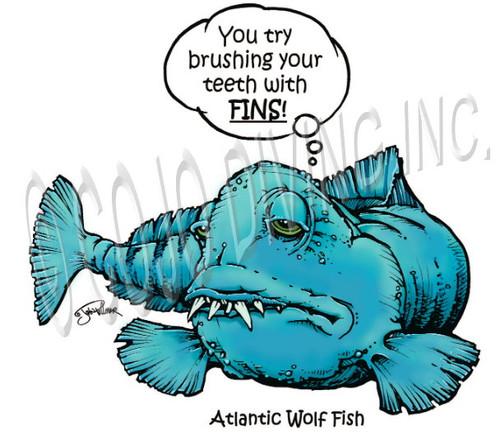 "COJO Critter ""Wolf Fish"" T-Shirt"
