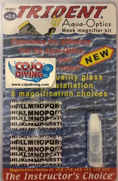 Trident Aqua-Optics Mask Magnifier Kit