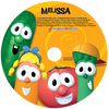 Veggie Tales Sing a Long Personalized Kids Music CD