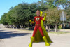 Amazing Dad Personalized DVD Superhero Pose