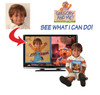 Gregory and Me See What I Can Do Personalized DVD for Kids Photo in TV