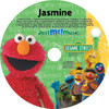 Elmo and Friends Personalized Music CD
