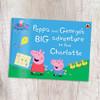 Personalized Peppa Pig: Peppa Big Adventure: Landscape Regular Size