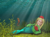 The Little Mermaid Personalized DVD for Kids Undersea Princess