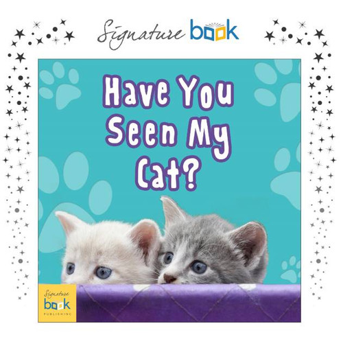 Personalized Have you seen my cat? Book - Signature Favorite
