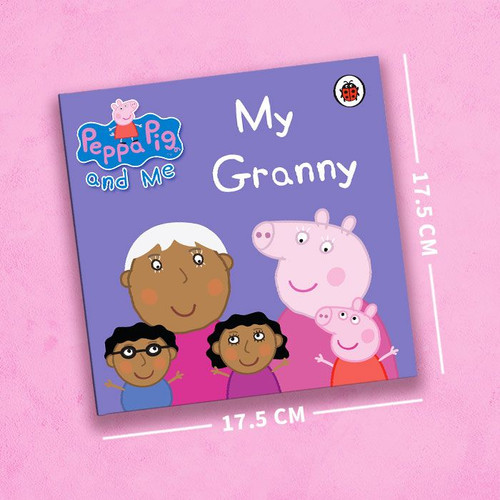Peppa Pig: My Granny Personalized Book - Square Hardback