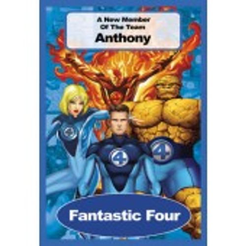Personalized Children's Poster - Fantastic Four