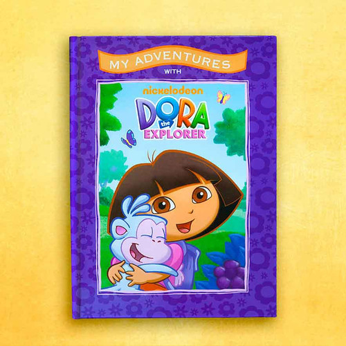 My Adventures with Dora the Explorer - Personalized Childrens Book - Big Size