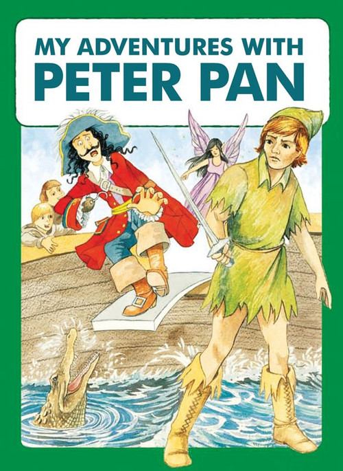 My Adventures with Peter Pan -  Personalized Childrens Book - Regular Size