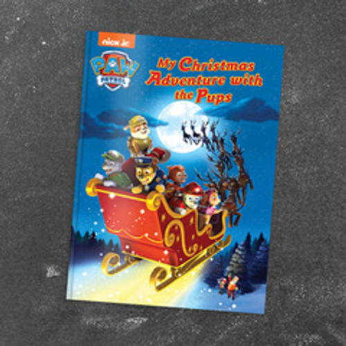 My Christmas Adventure with the PAW Patrol Pups -  Personalized Childrens Book - Large Softcover