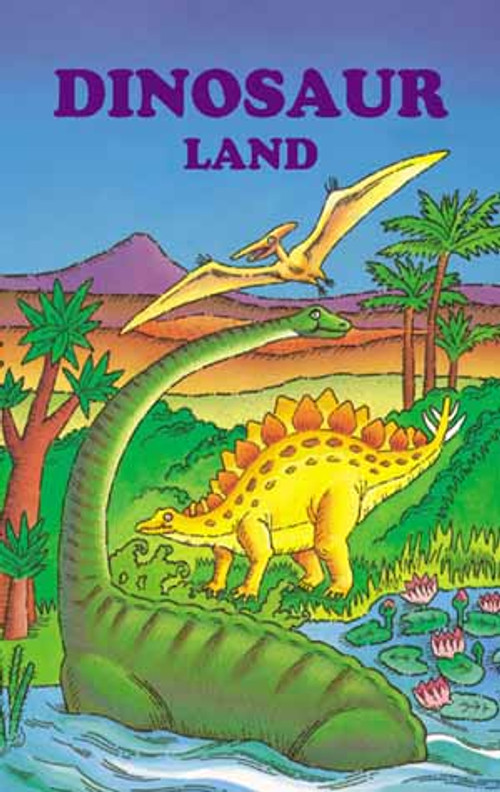 Dinosaur Land Personalized Childrens Book