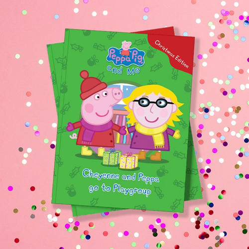 Peppa Pig: Christmas Playgroup Personalized Book - Large Soft Cover