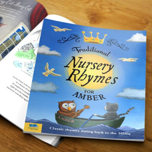 Personalized Traditional Nursery Rhymes Book