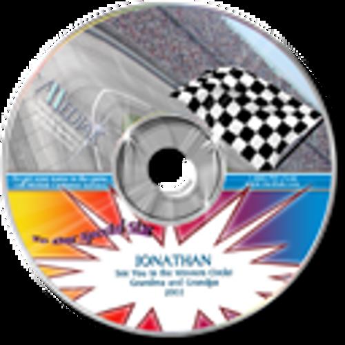 Personalized Sports Broadcast Audio CDs - Nascar