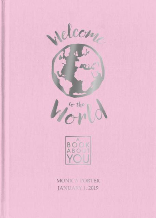 Personalized Book About You: Welcome to the World - PINK