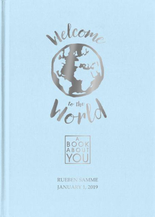 Personalized Book About You: Welcome to the World - Blue