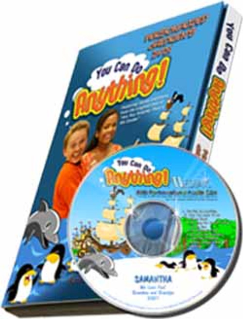 You Can Do Anything Personalized Kids Music DVD