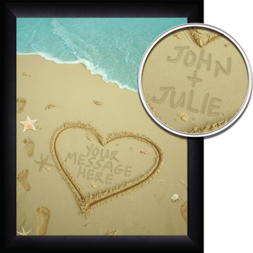 Personalized Sand Names Wall Art