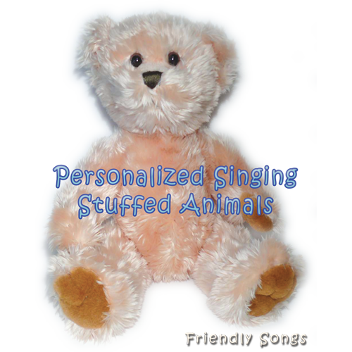 Personalized Singing Stuffed Animal Plush Toy