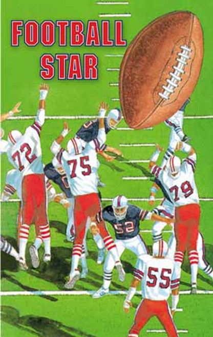 Football Star Personalized Childrens Book