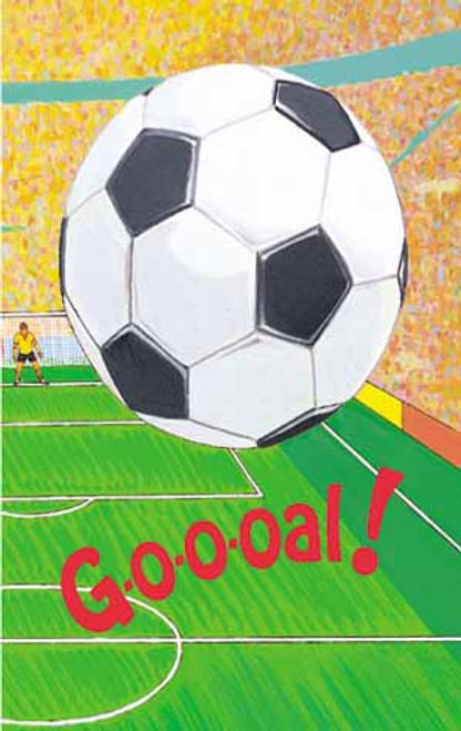 Goooal Soccer Personalized Childrens Book