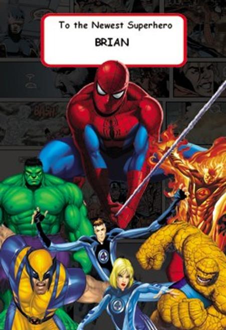 Personalized Children's Poster - Spider-man