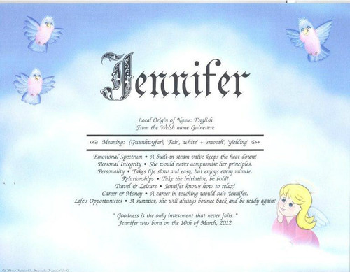 Heavenly Friends Girl First Name Meaning