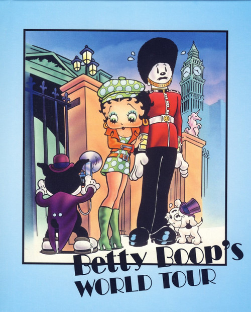 Betty Boop's World Tour Personalized Childrens Book