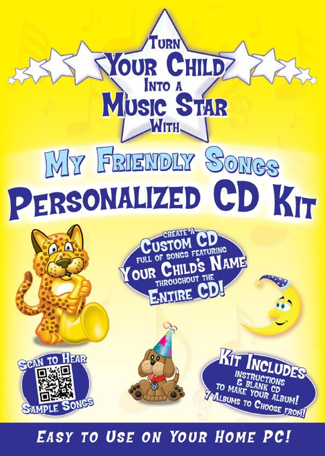 Friendly Songs Personalized CD Kit