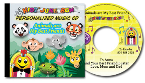 Animals are my Best Friends Personalized Kids Music