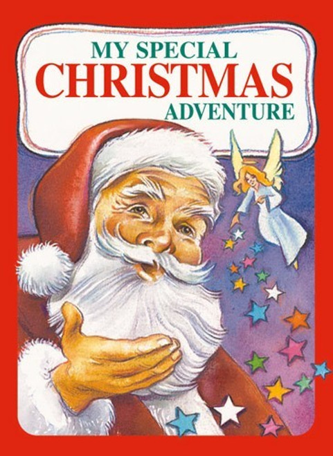 My Special Christmas Adventure Personalized Childrens Book - Large Softback