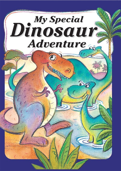 My Special Dinosaur Adventure - Personalized Childrens Book - Big Size