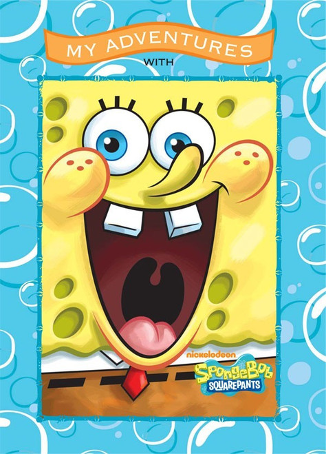 My Adventures with SpongeBob SquarePants -  Personalized Childrens Book - Large Size Softcover