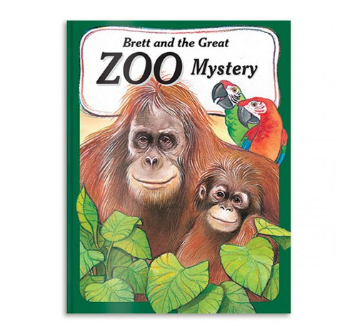 My Zoo Mystery Adventure - Personalized Childrens Book - Large Size Hardcover