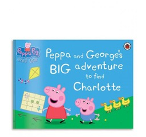 Personalized Peppa Pig: Peppa Big Adventure: Landscape Large Hard Cover