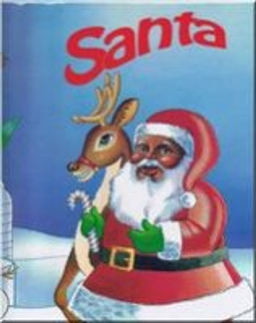Santa Personalized Childrens Book - African American Version