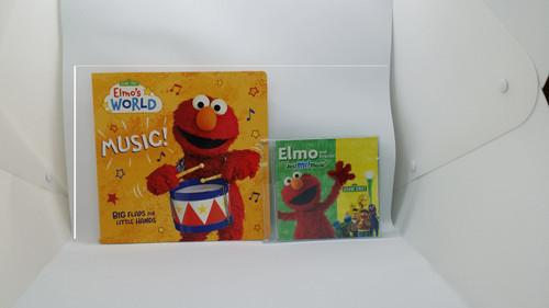 Elmo's World: Music! Sesame Street Book and CD Gift Set