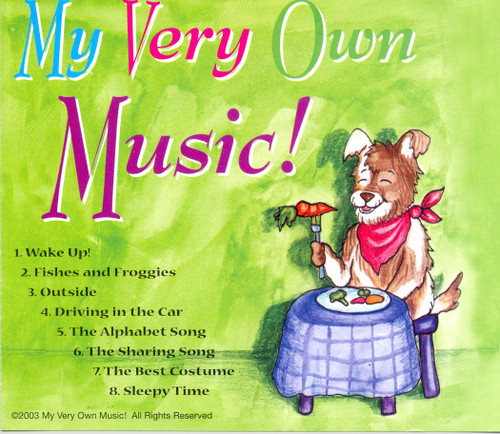 My Very Own Music Personalized Kids Music CD