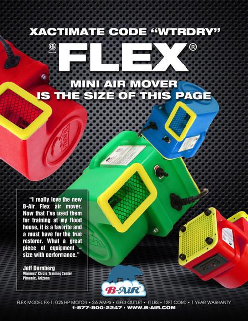 Flex - Ultra Small 1/4 HP Air Mover / Blower