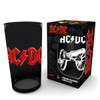 AC/DC Black Glass Tumbler