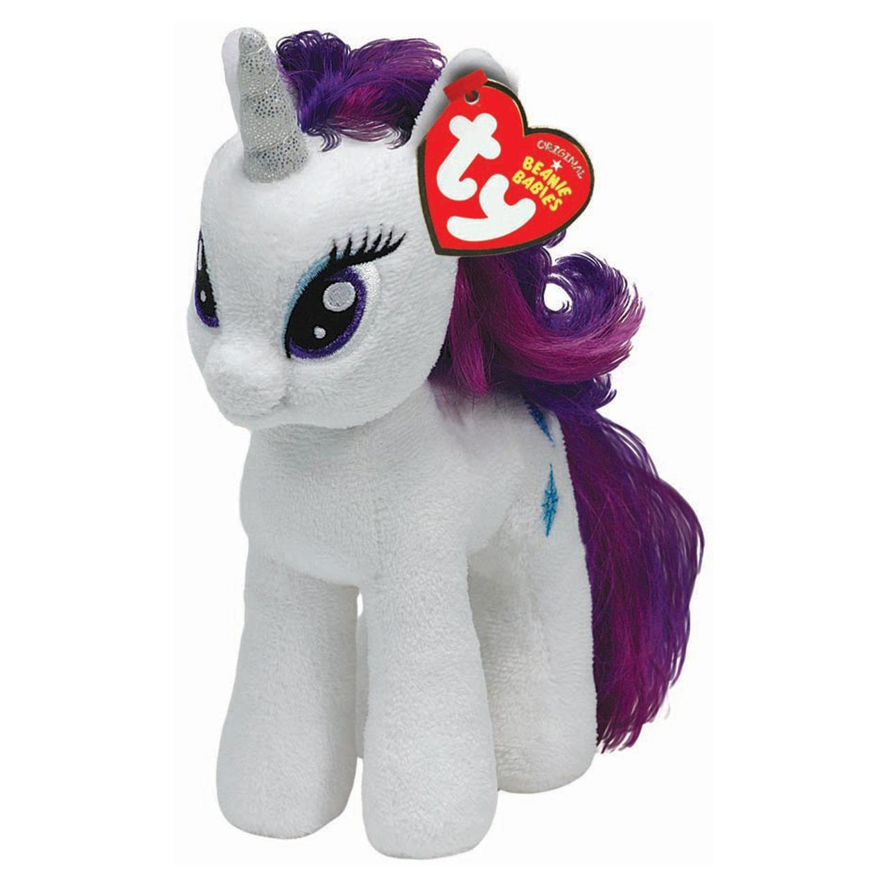 9757d92acea TY Beanie Boos My Little Pony Rarity Soft Toy