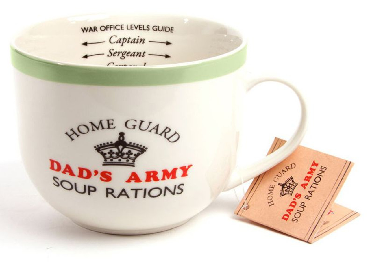 Official Dad/'s Army Don/'t Panic Mug In A Tin Gift Set Christmas Gift Ideas Him