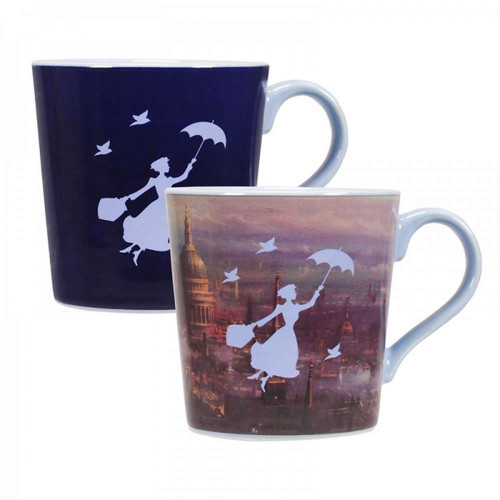 Mary Poppins Heat Changing Coffee Mug