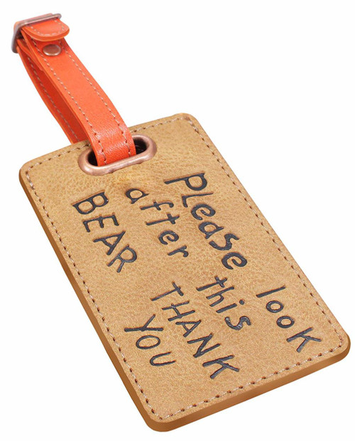 Paddington Bear Luggage Tag